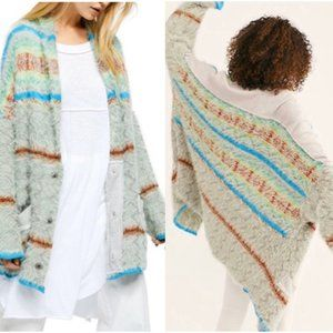 Free People Fair Weather Cardigan, NWT Size  XL